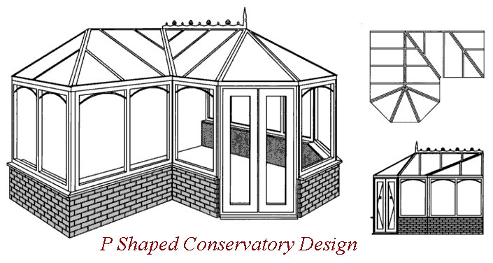 P shaped conservatories and sunrooms - Circular house plans shapes from nature ...